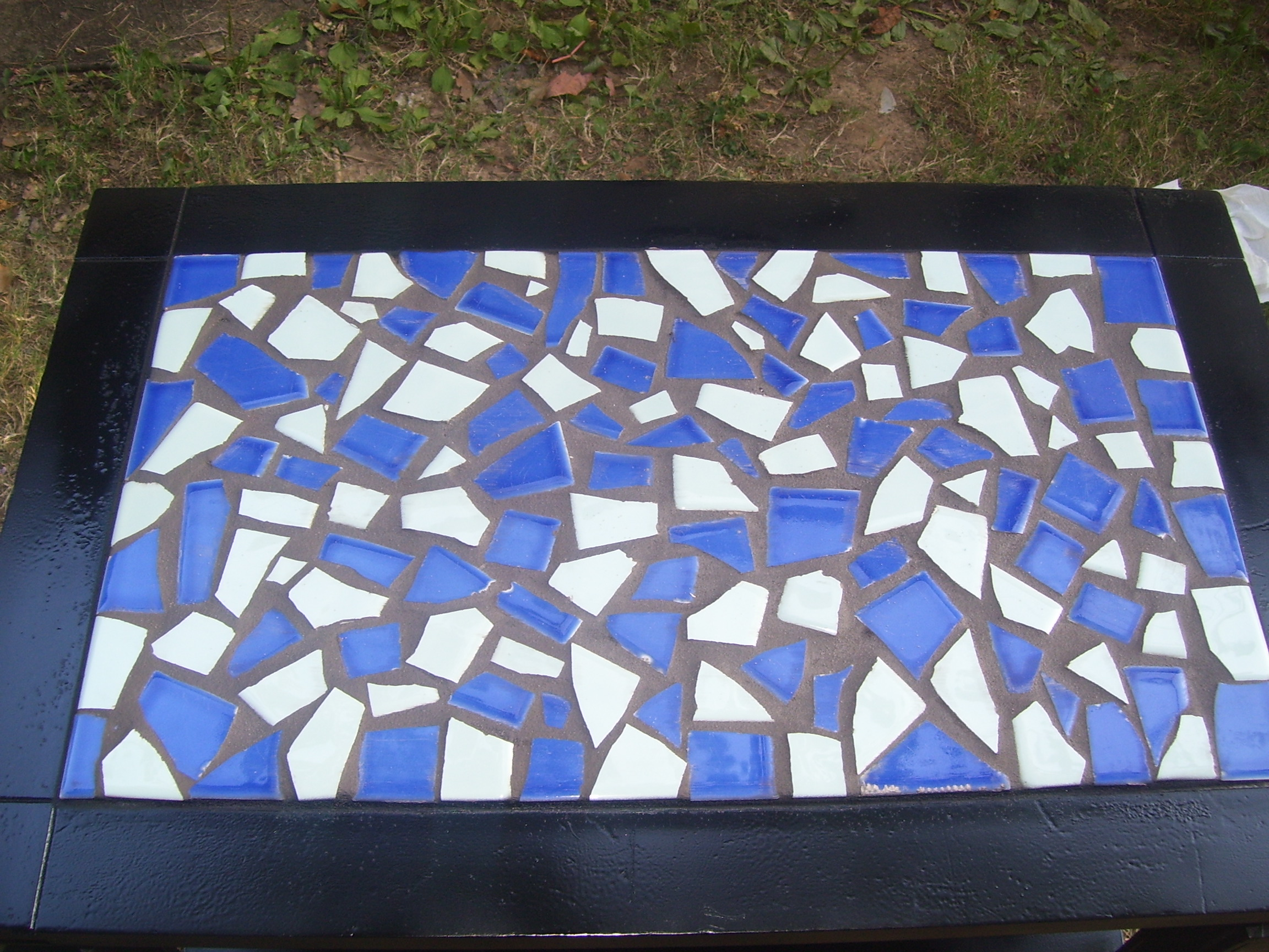 Recycled Crayons And A Mosaic Tile Coffee Table